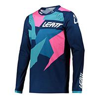 Leatt 4.5 Lite Jersey Blue Pink
