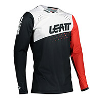 Leatt 4.5 Lite Jersey Black White