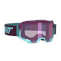 Leatt Velocity 4.5 Iriz Goggle Aqua Purple