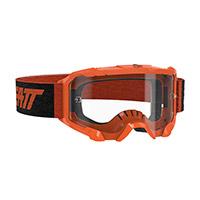Maschera Leatt Velocity 4.5 Neon Arancio