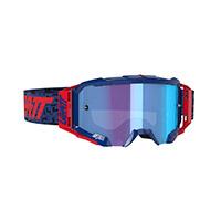 Maschera Leatt Velocity 5.5 Iriz Royal Blu