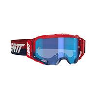 Maschera Leatt Velocity 5.5 Rosso Blu
