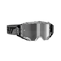 Maschera Leatt Velocity 5.5 Steel Grigio Chiaro