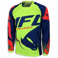 Ufo Jersey Offroad Sequence Yellow Fluo