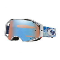 Oakley Airbrake Mx Prizm™ Tomac Military Digy Blue Signature - Lente Sapphire