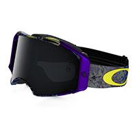 Oakley Airbrake Skull Purple Dark Grey Lens
