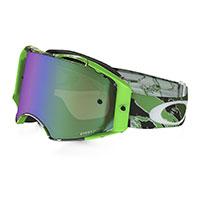 Oakley Airbrake Mx Prizm™ Tomac Neon Green Signature
