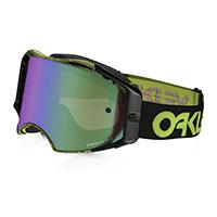 Oakley Airbrake Mx Prizm™ Factory Thumbprint Green - Jade Lens