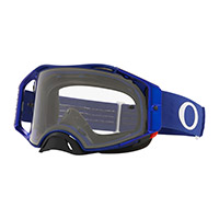 Maschera Oakley Airbrake Mx Blu Lente Trasparente