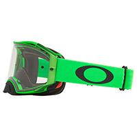 Maschera Oakley Airbrake Mx Verde Lente Chiara