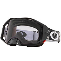 Oakley Airbrake Mx Nero Opaco Lente Low Light