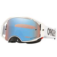 Oakley Airbrake Mx Factory Pilot Bianco Lente Blu