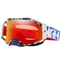 Oakley Airbrake Mx Tld Patriot Rwb Lens Torch