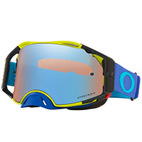 Oakley Airbrake Mx Tuff Blocks Green Lens Blue