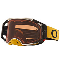 Oakley Airbrake Mx Tuff Blocks Gold Lens Bronze