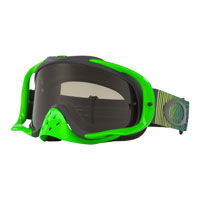 Oakley Crowbar Mx Shockwave Verde Nero Lente Scura