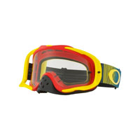Oakley Crowbar Mx Shockwave Red Yellow Clear Lens