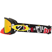 Oakley O Frame 2.0 Pro Mx Tld Anarchy Rosso Fire