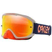 Oakley O Frame 2.0 Pro Mx Factory Pilot Fire Bleu