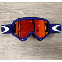 Gafas Oakley O Frame MX azul lente fire