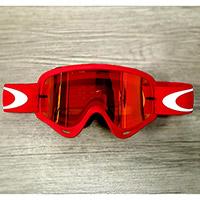 Gafas Oakley O Frame MX rojo lente fire