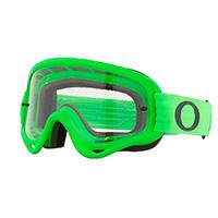 Gafas Oakley O Frame MX verde lente transparente