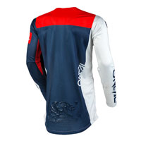 O'neal Airwear Jersey Grey Red Blue