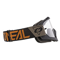 O Neal B10 Speedmetal Brown Lens Clear