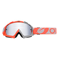 O Neal B10 Two Face Orange Lens Silver