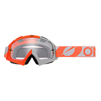 O Neal B10 Two Face Orange Lens Clear