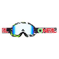 O Neal B-10 Stream Goggle Green Lens Blue