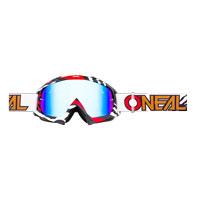 O'neal B10 Stream Goggle Radium Bianco Rosso