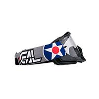 O Neal B-10 Warhawk Goggle Black Lens Clear