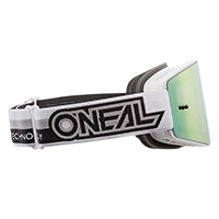 O Neal B-20 Proxy Goggle White Lens Red