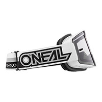 O Neal B-20 Proxy Goggle White Lens Grey