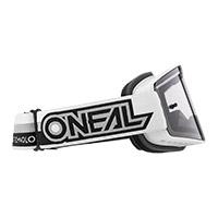 Maschera O Neal B-20 Proxy Bianco Lente Grigio