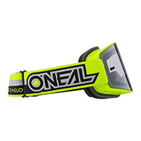 O Neal B-20 Proxy Goggle Yellow Lens Grey