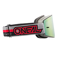 O Neal B-20 Proxy Goggle Red Lens Red