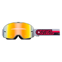 Masque O Neal B-20 Proxy Rouge Lentille Rouge