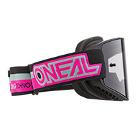 O Neal B-20 Proxy Goggle Pink Lens Grey