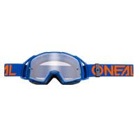 O'Neal B20 Flat Gogglesクリアブルーオレンジ