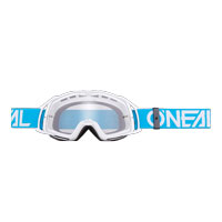 Oneal B20 Flat Goggles Clear Blue White