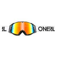 Oneal B20 Flat Goggles Radium Nero Bianco