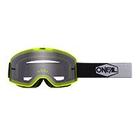 O Neal B-20 Plain Goggle Yellow Lens Grey