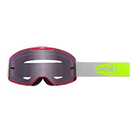 O Neal B-20 Plain Goggle Red Lens Grey