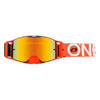 O Neal B-30 Bold Goggle Orange Lens Red