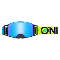 O Neal B-30 Bold Goggle Blue Yellow Lens Blue