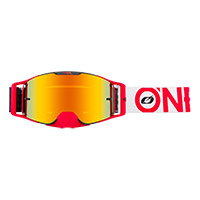 Masque O Neal B-30 Bold Rouge Lentille Rouge