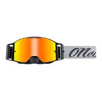 O Neal B-30 Reseda Goggle Gray Lens Red