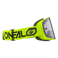 O Neal B-50 Force Goggle Yellow Lens Silver
